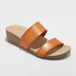 Women's kerryl wedge footbed Slide Sandals
